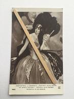 SALON DE PARIS»PORTRAIT DE MA FEMME ,J.DOMERGUE (nº 4263 Édit A.N ,PARIS. - Paintings