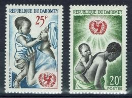 Dahomey (Benin), UNICEF, 1964, MNH VF  A Pair - Benin - Dahomey (1960-...)