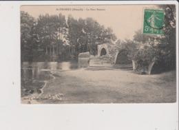 CPA - ST SAINT THIBERY - Le Pont Romain - Frankreich
