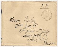 MOYAUX  Calvados En FRANCHISE. 1939. - Marcophilie (Lettres)