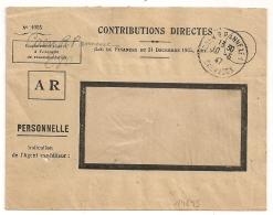 CAEN R.P. ANNEXE 1 Calvados En FRANCHISE. 1947. - Marcophilie (Lettres)