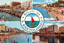 Cartolina San Bartolomeo  Vedutine - Imperia
