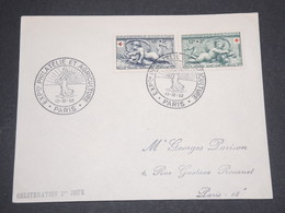 FRANCE - Enveloppe 1 Er Jour Croix Rouge En 1952 - L 13182 - FDC