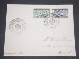 FRANCE - Enveloppe 1 Er Jour Croix Rouge En 1952 - L 13183 - FDC