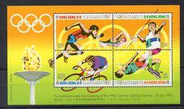 HONG KONG  Timbres Neufs ** De 1992  ( Ref 4983 ) Sport - JO - Hong Kong (...-1997)