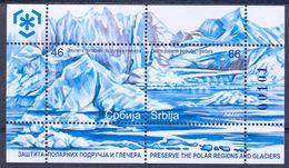 SRB 2011-385-6 POLARREGION, SERBIA, S/S, MNH - Serbia