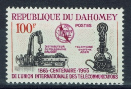 Dahomey (Benin), International Telecommunication Union, 1965, MNH VF - Bénin – Dahomey (1960-...)