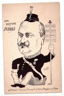 F110 - Caricature Politique - Nos Postiers : Serres ( Receveur Principal Des PetT De La Seine ) - Manifestations