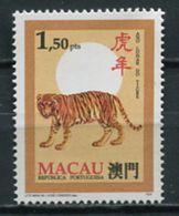 Macau 1995 Macao / Fauna Mammals Tigers Big Cats MNH Mamíferos Felinos Tigres Säugetiere / Cu6634  2 - Big Cats (cats Of Prey)