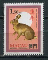 Macau 1995 Macao / Rodents Rabbits Mammals MNH Roedores Mamiferos Conejos Säugetiere / Cu6635  2 - Roedores