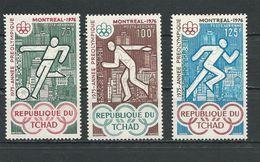 TCHAD  Scott C168-C170 Yvert PA159-PA161  (3) ** Cote 4,50$ 1975 - Tchad (1960-...)