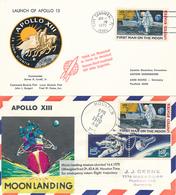 USA - Weltraumbelege , Space Flights , Etc.  -  11 Belege - Vereinigte Staaten