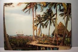 TAHITI   -       Paysage  Tahitien   - - Polynésie Française