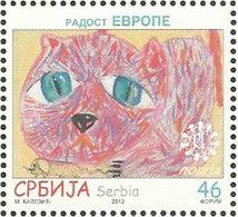 SRB 2012-476 CHILDREN, SERBIA, 1 X 1v, MNH - Serbie