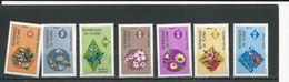 TCHAD  Scott 302-308 Yvert 299-305  (7) ** Cote 9,40$ 1975 - Tchad (1960-...)