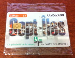 CANADA CARTE TÉLÉPHONIQUE LAPUCE QUÉBECTEL SEPT-ÎLES PHONECARD NEUVE CARD 5$ QUEBEC POUR COLLECTION - Canada