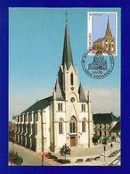 "Luxemburg  1998  Mi.Nr. 1441 , ""Eglise Sainte Amalberge"" RODANGE 1869 - Maximum Card - Stempel Rodange 4-4-1998 - Tarjetas Máxima"
