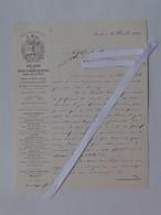 ZURICH (SUISSE): Lettre à En-tête 1899  Fabrique De Machine Pour MOULINS - MILLOT Maison Fondée En 1852 - Moulin - Suisse
