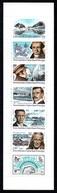 TAAF 2000 Great Explorers: Stamp Booklet UM/MNH - Booklets