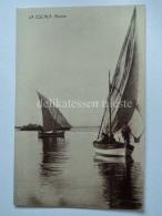 SPAGNA España Spain LA ESCALA Marina Fishing Boat Fisherman Barca Pesca Old Postcard 6 - Gerona