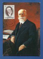 Luxemburg  1990 Mi.Nr. 1245 , Paul Eyschen - President Du Gouvernement - Maximum Card - Jour D'Emission 28- 5- 1990 - Maximumkarten