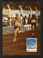 Luxemburg  1984  Mi.Nr. 1104 , Stadion Luxembourg - Maximum Card - Jour D'Emission 7- 5- 1984 - Maximumkarten