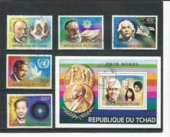 TCHAD  Scott 316-317, C196-C198, C199 Yvert 322-323, PA183-PA185, BF19 (5+bloc) O Cote 5,50$ 1976 - Tchad (1960-...)