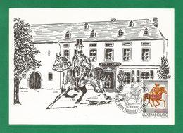 Luxemburg  1983 Mi.Nr. 1078 , Redange / Attert - Ancien Relais Postal - Maximum Card - SStempel 3.10.87 - Maximumkarten