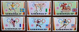 Liberia 1972 Sport Olympic Games Munich Mi.826-31 MNH M.238 - Liberia