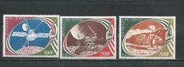 TCHAD  Scott C220-C222 Yvert 3PA205-PA207 (3) ** Cote 6,00$ 1977 - Tchad (1960-...)