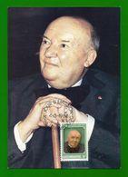 Luxemburg 1982  Mi.Nr. 1055 , Raoul Follereau - Maximum Card - Stempel Jour D'Emission Luxembourg 4-5-1982 - Maximum Cards