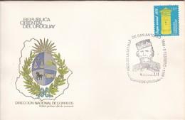 FDC-150 AÑOS BATALLA DE SAN ANTONIO, GARIBALDI. '96.-URUGUAY-TBE-BLEUP - Otros