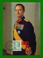 Luxemburg 1982  Mi.Nr. 1051, Son Altesse Royale Jean Grand-Duc - Maximum Card - Jour D'Emission Luxembourg 25-2-1982 - Cartes Maximum