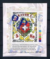 Schweiz 2000 Block 30 Gest. Auf Papier - Switzerland