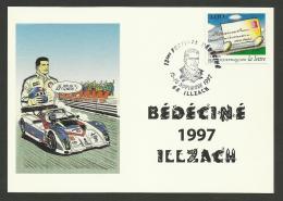 68 - ILLZACH / Festival BEDECINE - MICHEL VAILLANT / 1997 - Cachets Commémoratifs
