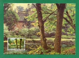 "Luxemburg 1982  Mi.Nr. 1047 , "" Paysage ""1911 - Maximum Card - Jour D'Emission Luxembourg 25-2-1982 - Cartes Maximum"