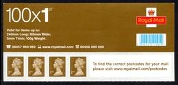 GREAT BRITAIN 2009 Machin Definitives 4x1st S/ADH: Set Of 4 Stamps (ex Business Sheet) UM/MNH - Ongebruikt