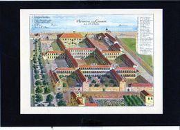 1962 Publicité Laboratoires Roussel / Monuments Disparus N°3 Hospice De La Charité à Lyon - Advertising
