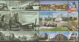 SRB 2014-569-70 Liberation Of Belgrade, SERBIA, S/S, MNH - Serbia