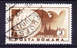 Romania 1933 Mi. 463    3 L Schloss Peles Und Könige  Karl I., Ferdinand I. Und Karl II. - Gebraucht