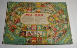 Jeu De L'oie Ancien, Format 42x30 Cms En Carton Fort, Offert Par La Margarine Axa - Other Collections