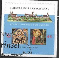 2008 Deutschland Allem. Fed. Germany  Mi. 2642 FD-used  Folienstamp   UNESCO-Welterbe: Klosterinsel Reichenau, Bodensee; - Gebraucht
