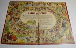 Jeu De L'oie Ancien, Format 48x36 Cms En Carton Fort - Other Collections