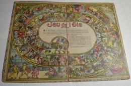 Jeu De L'oie Ancien, Format 46x36 Cms En Carton Fort - Other Collections
