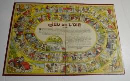 Jeu De L'oie Ancien, Format 40x28 Cms En Carton Fort - Other Collections