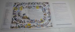 Le Jeu Universel De L'industrie Humaine, Publicité Strécipen, Format 61x27 En Carton Gris - Other Collections