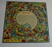 Jeu De L'oie Ancien, Format 27x27 Cms En Papier - Other Collections