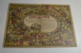 Jeu De L'oie Ancien, Format 38x27 Cms En Carton Fort - Other Collections