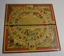 Jeu De L'oie Ancien, Format  28x28 Cms En Carton Fort - Other Collections