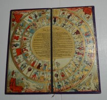 Jeu De L'oie Ancien, Format  23x23 Cms En Carton Fort - Other Collections